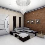 plan 3D interieur salon