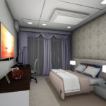 plan 3D chambre