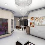 plan 3D salon